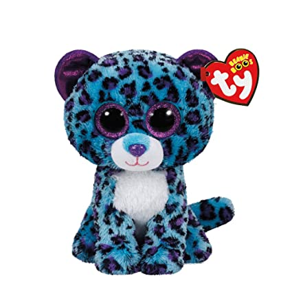 Claires Accessories TY Beanie Boos Small Lizzie the Leopard Plush Toy