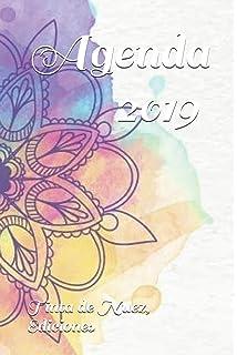 Agenda 2019: (Flores): Amazon.es: Tinta de Nuez Ediciones ...