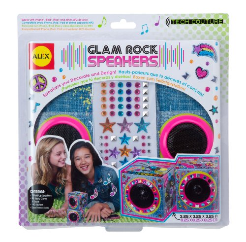 ALEX Toys Do-it-Yourself Wear Denim Print Tech Couture Glam Rock - Rock Couture