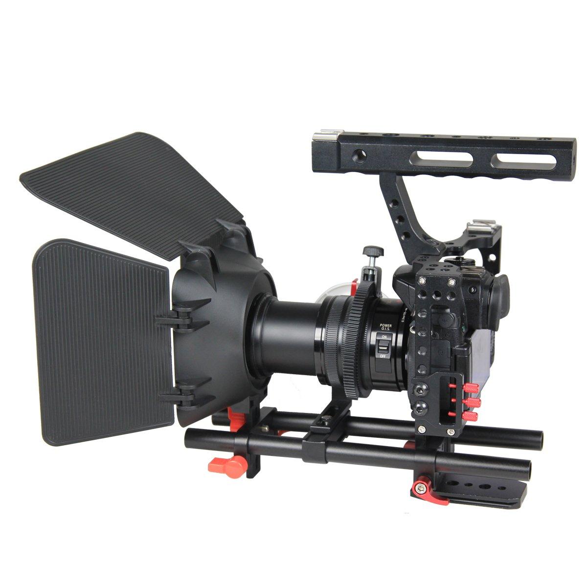 YELANGU Cámara de cine películas Video de aleación de aluminio ...