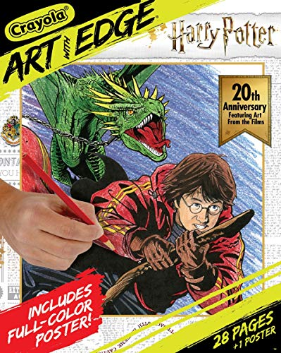 Crayola Art with EdgeColoring Pages Harry Potter Celebration (Harry Potter Book Art)