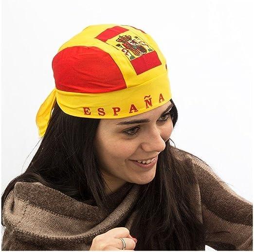 Genérico - Pañuelo gorro bandera de españa: Amazon.es: Hogar