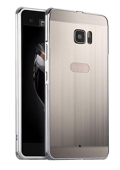 """2 opinioni per XMT HTC U Ultra 5.7"""" Custodia,Lusso Metallo Armatura Bumper Case + PC Back Cover"""