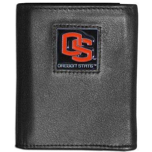 NCAA Oregon State Beavers Leather Tri-Fold Wallet