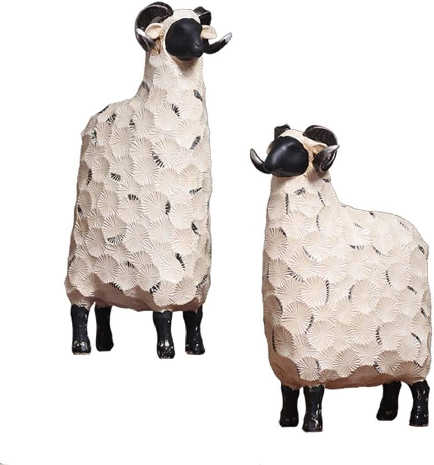 Nordic Creative Sheep Ornaments Home Modern Minimalist Abstract Wine Cabinet Wedding Room Decoration Wedding Gift Birthday Gift Statues