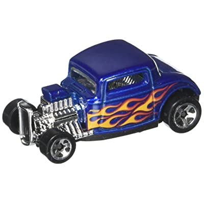 Hot Wheels 2020 HW Flames '32 Ford 223/365, Blue: Toys & Games