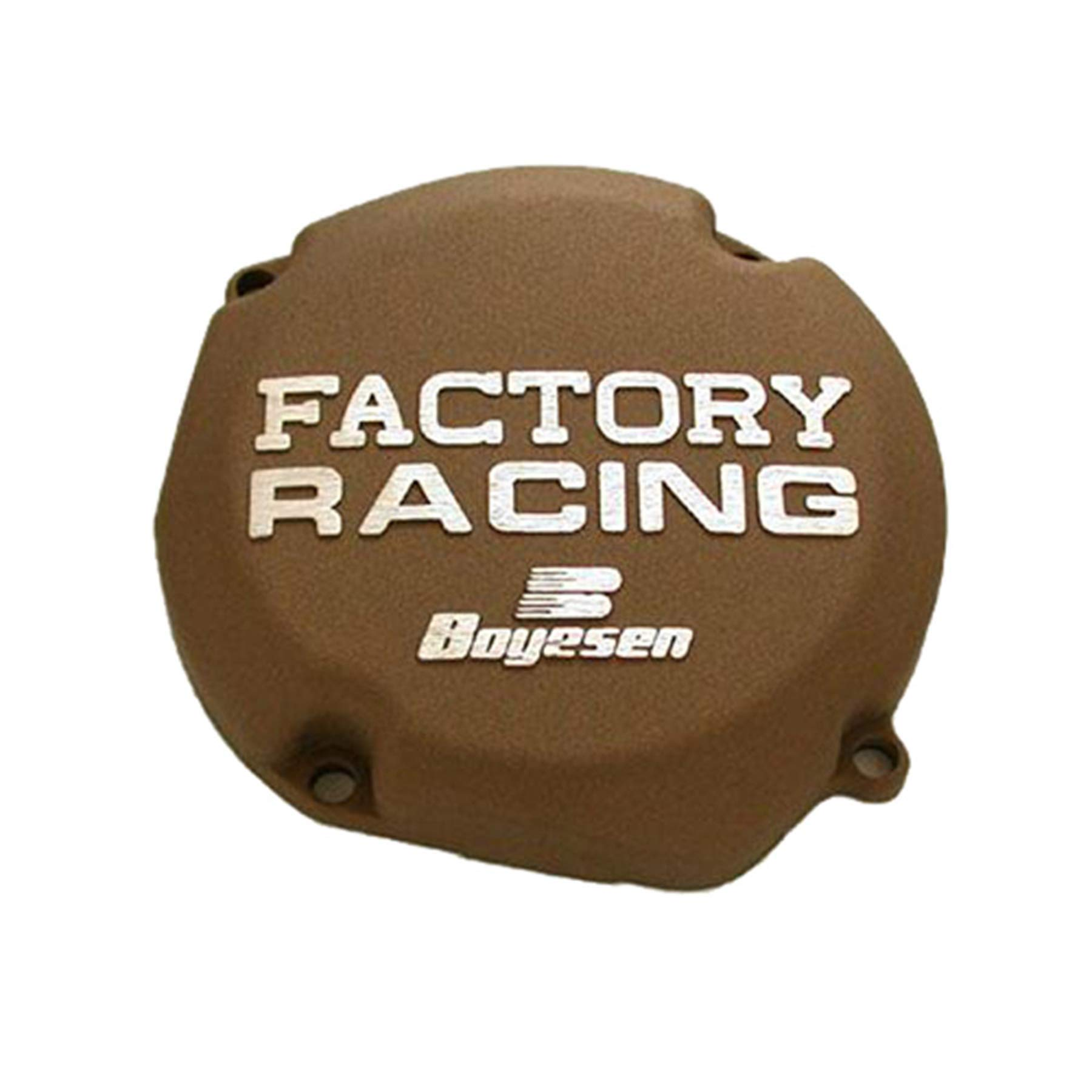 Factory Ignition Cover - Magnesium 2007 Suzuki RM250 Offroad Motorcycle