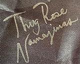 Rose Namajunas autographed signed inscribed fight