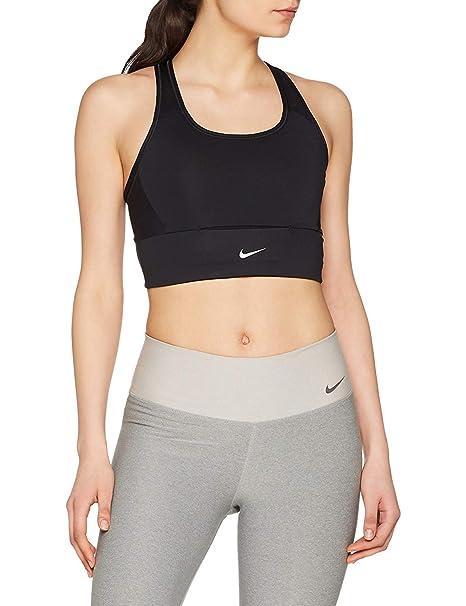 Nike 888605 010 Sujetador Deportivo, Mujer, Black/White, XL