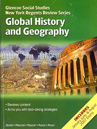 NY Glencoe World History, Global History and Geography Prep, NewYork Regents, Student Edition (Glencoe Social Studies Ne