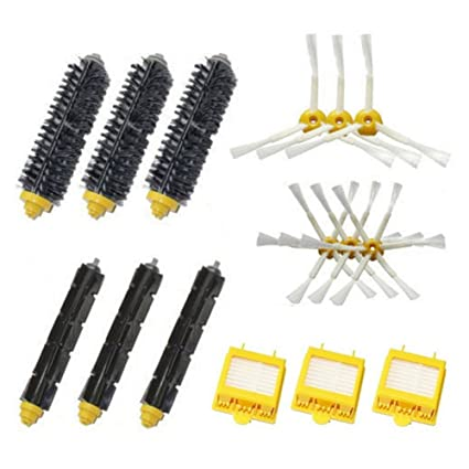 Home Appliance Parts New Brand Filters Pack 3 Armed Side Brush Kit For Irobot Roomba Vacuum 700 760 770 780 Home Appliances