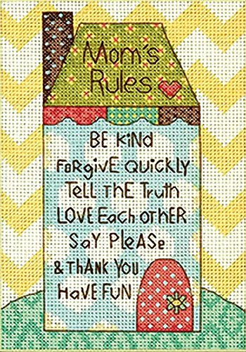 Dimensions Crafts Counted Cross Stitch Kit, Mom's
