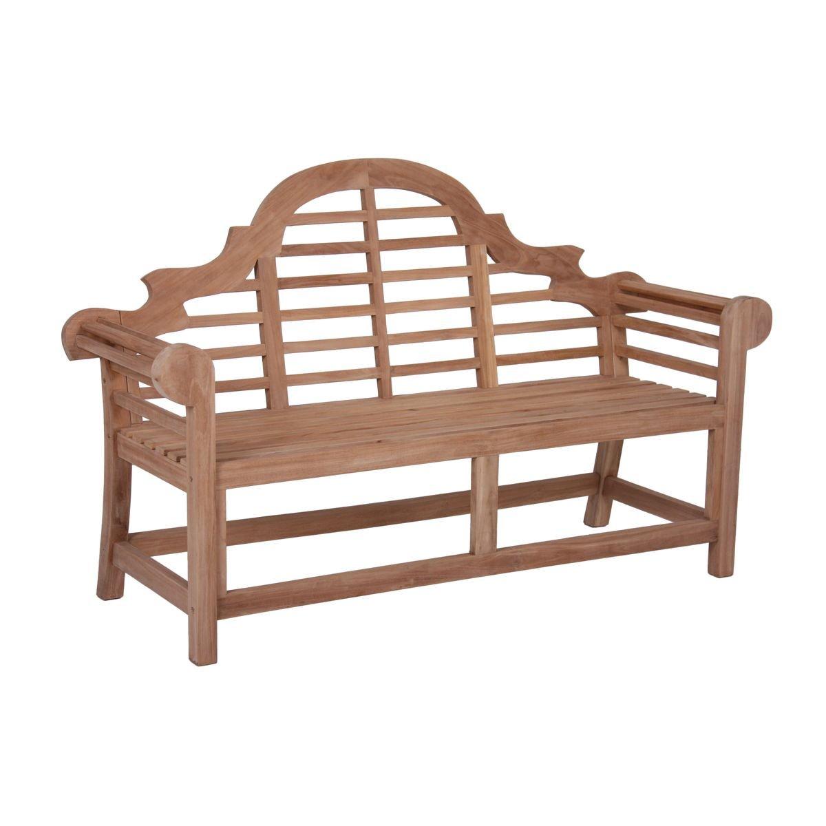 3 sitzer gartenbank aus unbehandeltem teak sitzbank parkbank holzbank online bestellen. Black Bedroom Furniture Sets. Home Design Ideas
