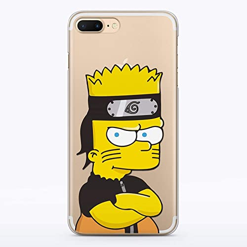best website 10b70 d1ff6 Amazon.com: Bart Naruto Case for Apple iPhone 6 and iPhone 6S Case ...
