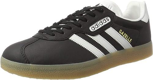 adidas gazelle nere suola marrone