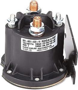 10L0L 612711 Solenoid, 48-Volt, Used on 2010-Current EZGO Electric 48V TXT & All 48 Volt MPT 800/1000 Vehicles
