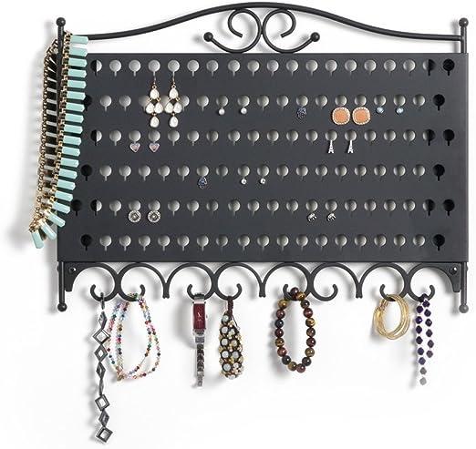Mango Steam Wall Mounted Jewelry Earring Organizer Amazon Ca Home Kitchen