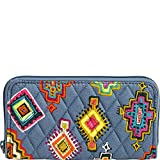 Vera Bradley Women's RFID Georgia Wallet Painted Medallions One Size