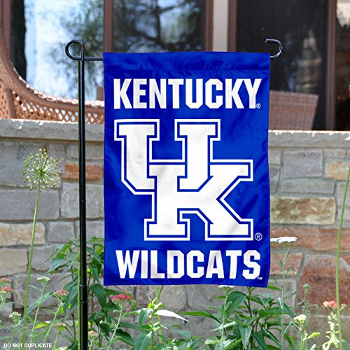 College Flags and Banners Co. Kentucky Wildcats Wordmark Garden Flag