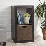 Better Homes and Gardens.. Bookshelf Square Storage Cabinet 4-Cube Organizer (Weathered) (White, 4-Cube) (Espresso, 2…