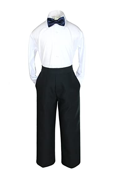 Amazon.com: leadertux 3pc Formal para bebé Teen Boy azul ...