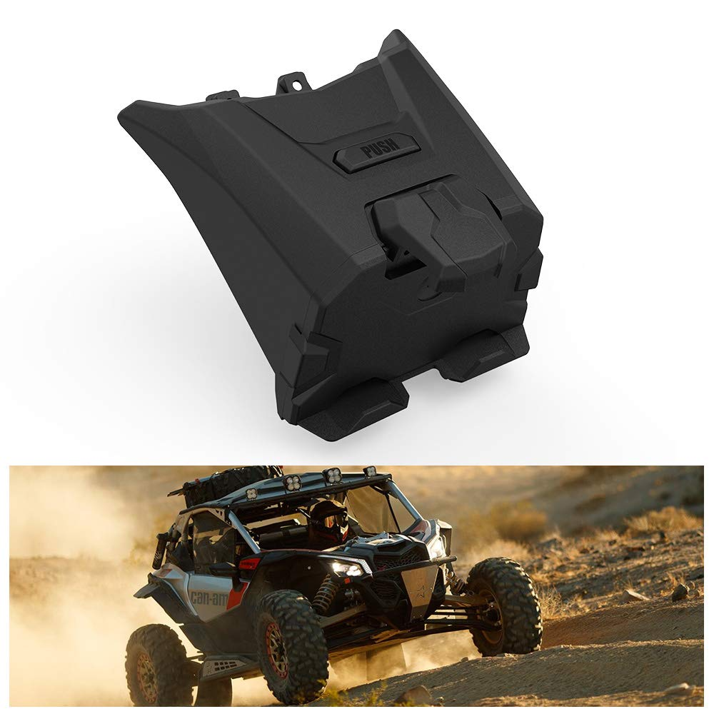 KIWI MASTER Electronic Device Tablet Phone Holder Compatible for 2017-2019 Can Am Maverick X3 Storage Box Organizer Tray 715002874