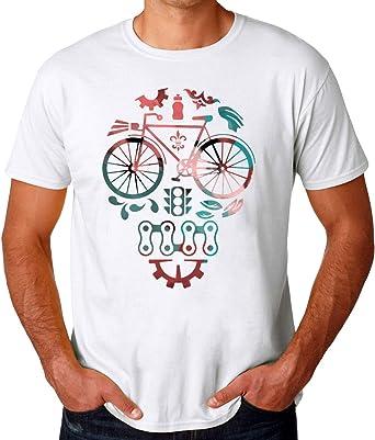 ABDesign Bike Rider Artwork Camiseta para Hombres: Amazon.es: Ropa y accesorios