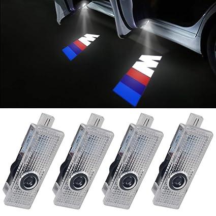 Proyectores LED para puerta de coche, sombra fantasma, bienvenida ...