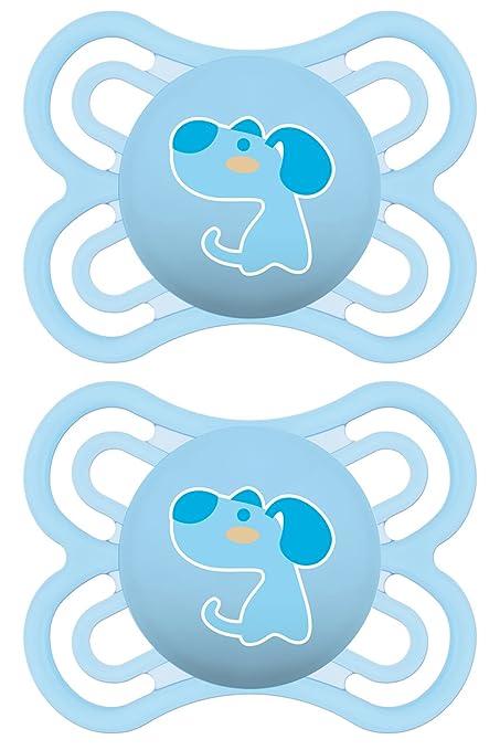 77 opinioni per MAM Babyartikel 99953000- Ciuccio in silicone 0-6 mesi, Confezione Doppia,