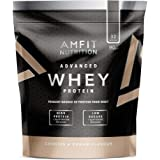 Amazon Brand- Amfit Nutrition - Advanced Whey Protein Powder Cookies and Cream, 32 Servings, 992 g
