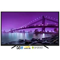 TV LED 55 4K ULTRA HD SMART TV@ANDROID6.0 WIFI+LAN DVB-T2 2XHDMI 2XUSB BLACK