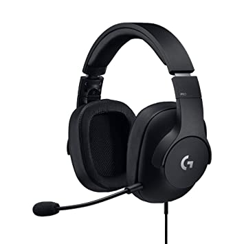 decbe0157bb Logitech G Pro Gaming Headset, lightweight with Pro-G audio drivers (for PC