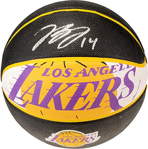 Brandon Ingram Los Angeles Lakers Autographed Lakers Logo Spalding Basketball - Fanatics Authentic Certified