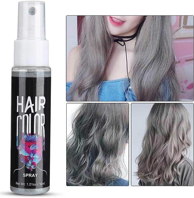 30ml Spray de color de cabello temporal Spray de tinte para ...