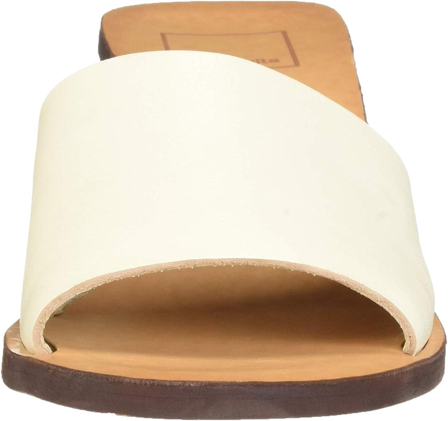 Kylin Slide Sandal, Ivory Leather