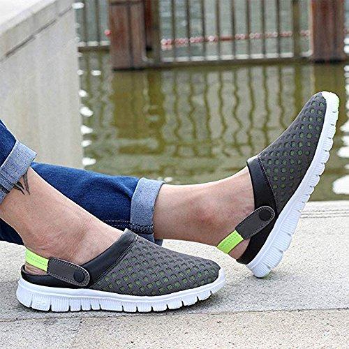 Creux Couple Sandales Plage Flip Unisexe Trous Casual Classique Huateng Chaussures Femmes Jaune Hommes Flops Sport zUREnP