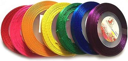 Wide Organza Ribbon 40 mm Rainbow