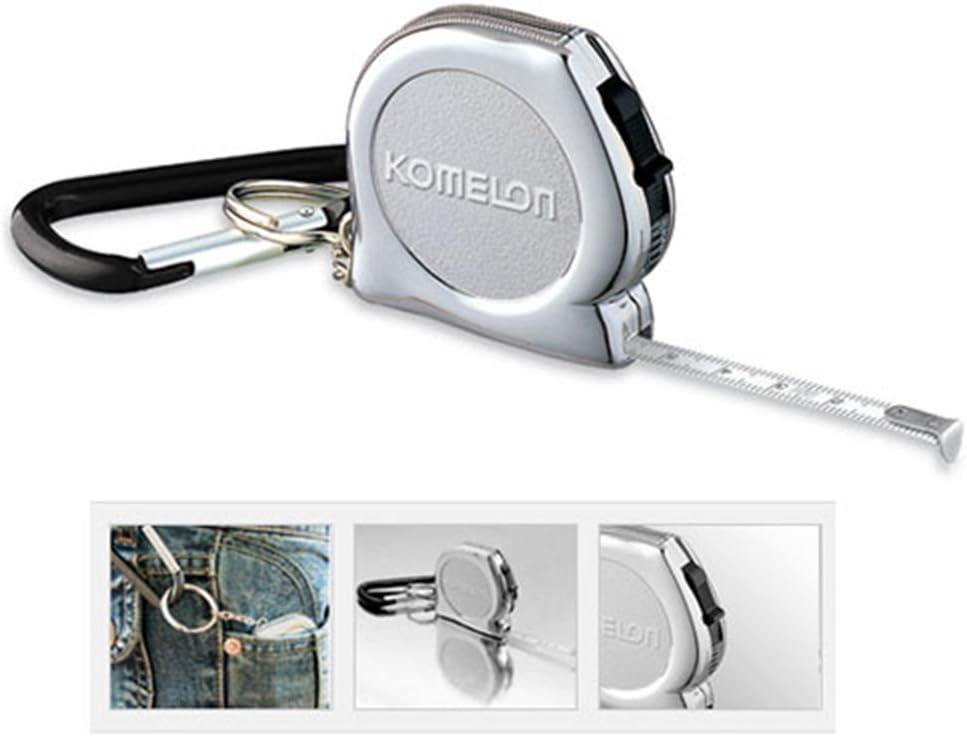 9.84ft Komelon KMC-74K Steel Pocket Tapes Key-Chain Tape Measures 3m