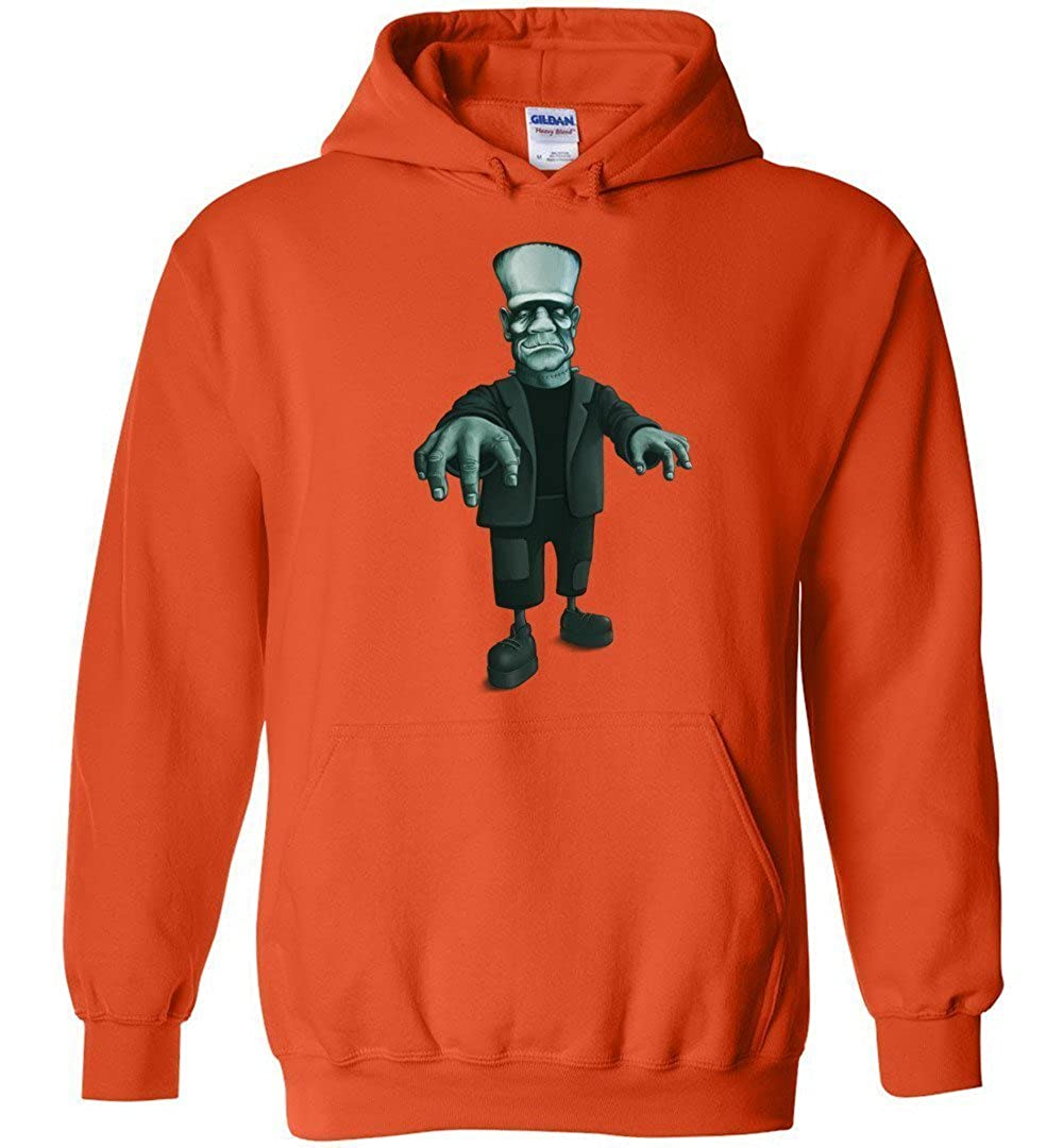 3f0d83f5b030 Amazon.com  FRANKENSTEIN HOODIE Halloween Kids Monster Frankie Unisex  Hoodies for Boys and Girls  Clothing