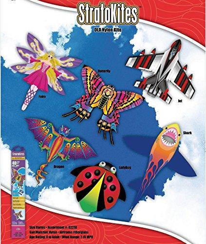 x-kites stratokiteデラックスナイロンKites – Case of 16 Assortment B06ZYW4NFD