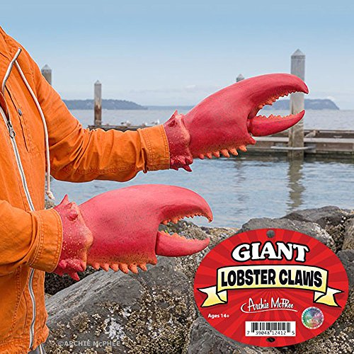 amazon com latex lobster crab claws costume gloves clothing