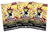 Yu-Gi-Oh Millennium Pack Booster Pack 3 Cards Per Pack 3 Pack Set - 9 Cards In All -Exclusive Series 1st Edition - Konami English Edition