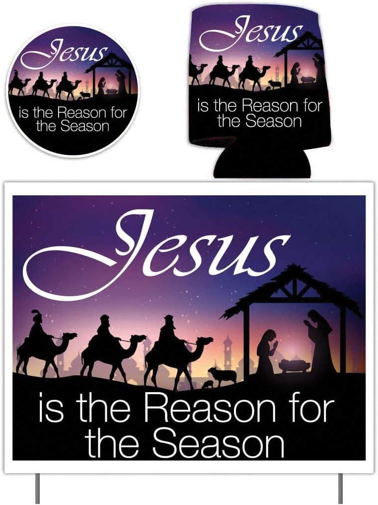 Amazon.com: VictoryStore - Cartel de Navidad con texto en ...