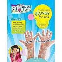 My Mom Knows Best MKB-100 Glovies Multipurpose Latex-Free Disposable Gloves for Kids (100 Count), Grade: Kindergarten to…