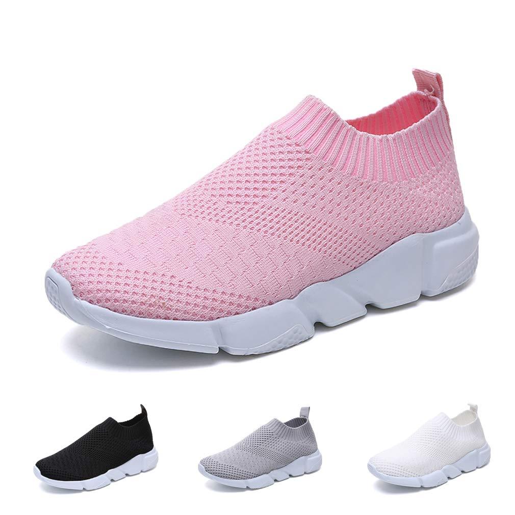 Hishoes Laufschuhe Fitnessschuhe Damen Sneakers Atmungsaktiv luJ31FKTc5