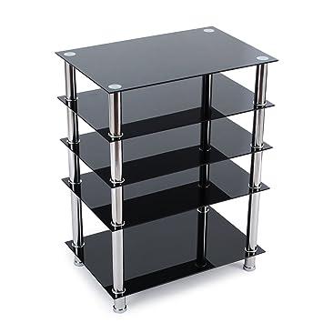 Fernsehschrank lcd  RFIVER Fernsehtisch Glas Tisch TV Rack B LCD TV: Amazon.de: Elektronik