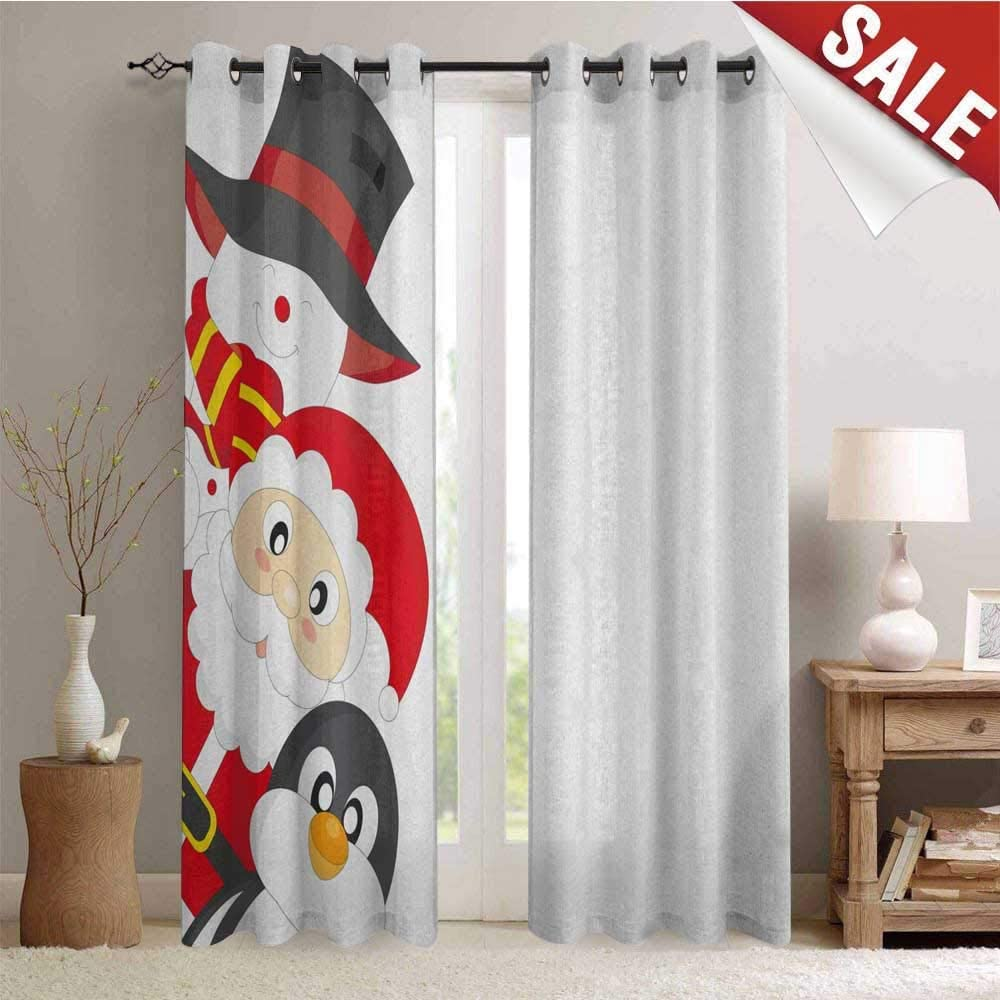 christmas curtains living room for sale