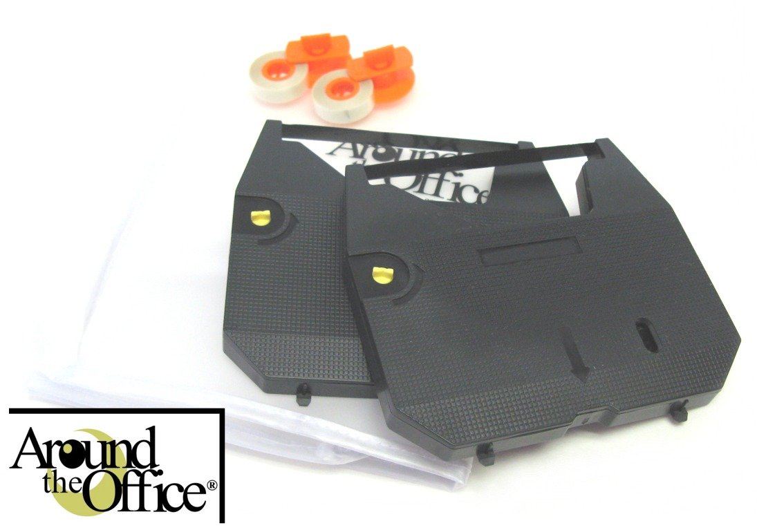 Around The Office Compatible Brother Typewriter Ribbon /& Correction Tape for Brother WP 3410 Typewriter /… This Package Includes 2 Typewriter Ribbons and 2 Lift Off Tapes