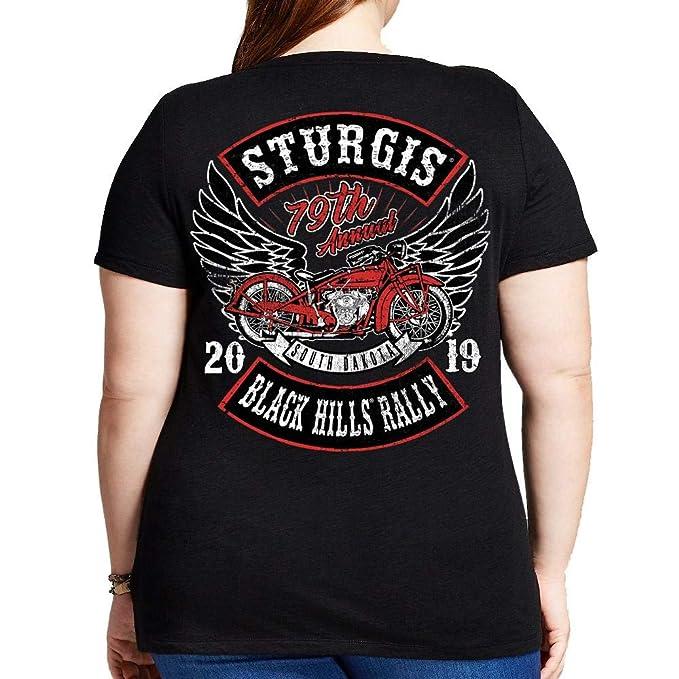 c5ca504ca Ladies 2019 Sturgis Black Hills Rally Rocker Billy Misses Plus Scoop ...