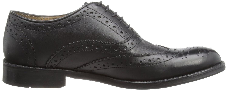 Brand X Men's Oxford Brogue Black Shoe AM02011 7 UK: Amazon.co.uk: Shoes &  Bags